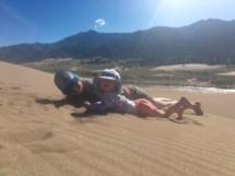 A giant sandbox!